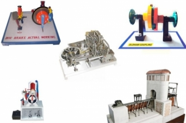 Various Engineering Models, Charts and Accessories