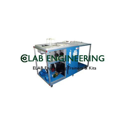 Computer Controlled Multipump Testing Bench.