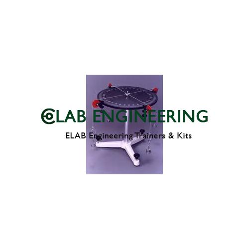 Apparatus To Study Equilibrium Of Non Concurrent Forces