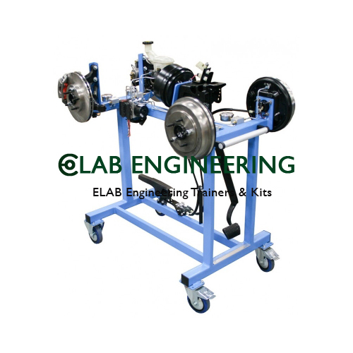 Model Of Hydraulic Braking System