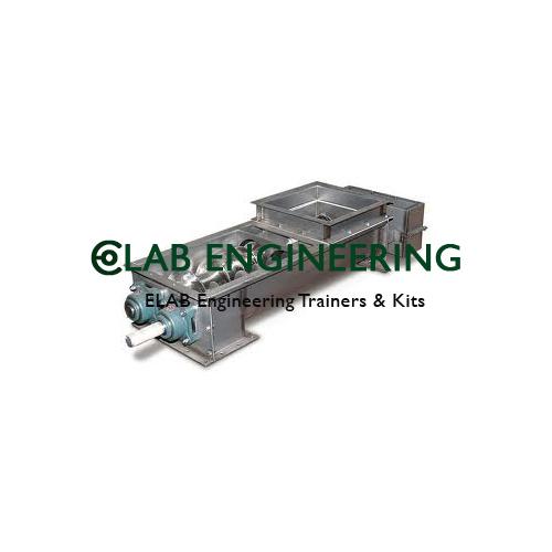Working Model of Screw Conveyor