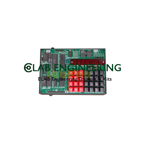 8085 Microprocessor Trainer Kit With LCD Display