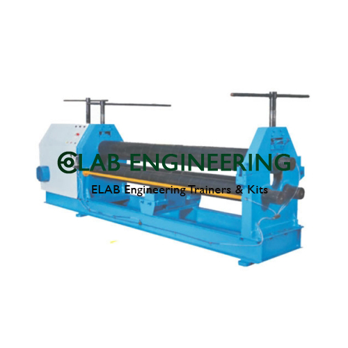 Pyramid Type Plate Rolling Machine