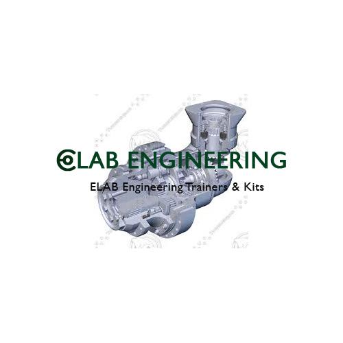 Cutaway Model Control Gear