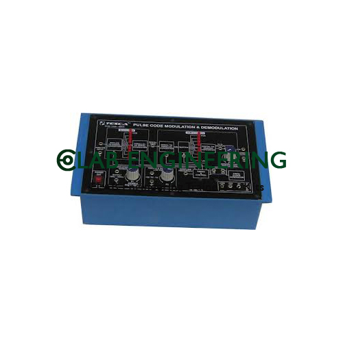 Pulse Code Modulation/demodulation Trainer Kit