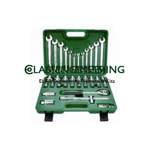 Auto Repair Tool Set With Tool Box - Large
