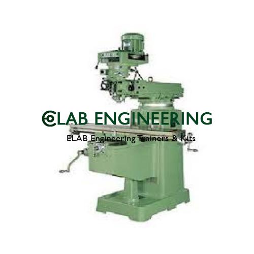 Ram Turret Vertical Milling Machine