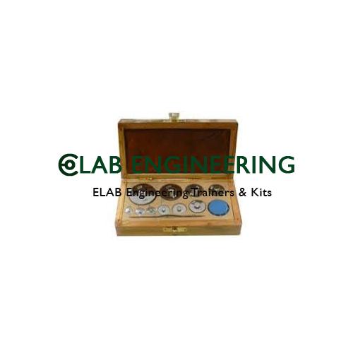 Physical Weight box (brass)