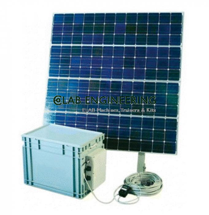200 Wp Solar Power System, Complete