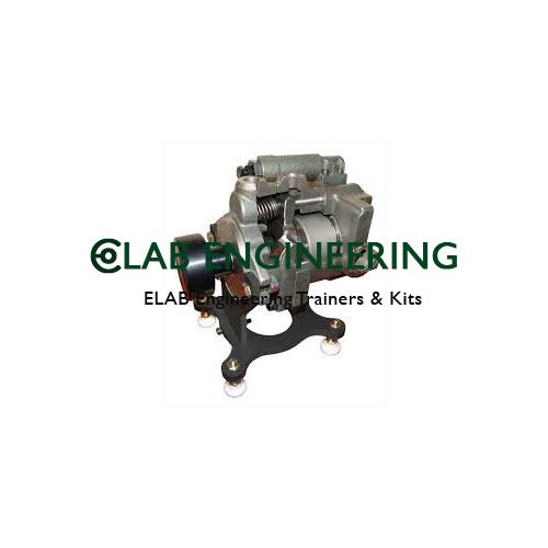 Cutaway Model Piston Pump