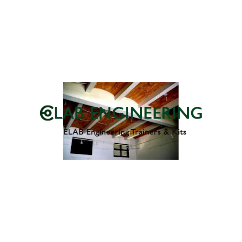 Model of Jack Arch Flooring