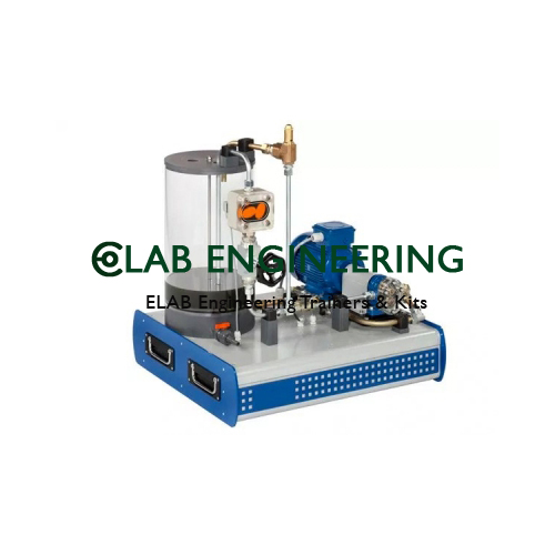 COMPUTERIZED GEAR PUMP TEST RIG