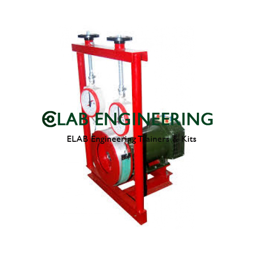 3 Phase AC Machine With Loading Arrangement
