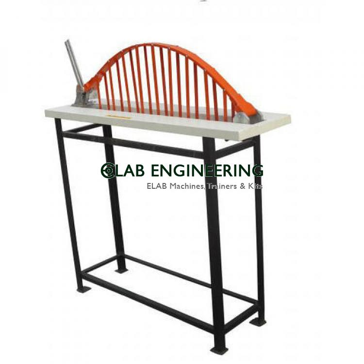 2 hinged arch apparatus