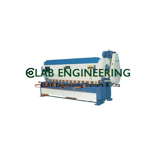 Overcrank Mechanical Motorised Shearing Machine
