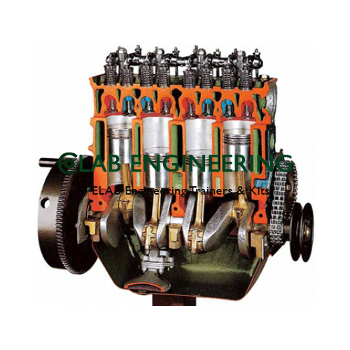 Petrol Engines Cutaway