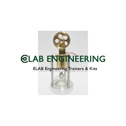 Model of Sterling Boiler