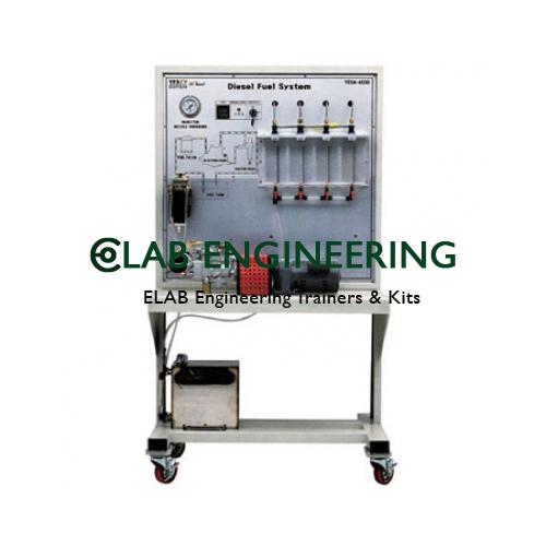 Diesel Fuel Injection System Inline Pump