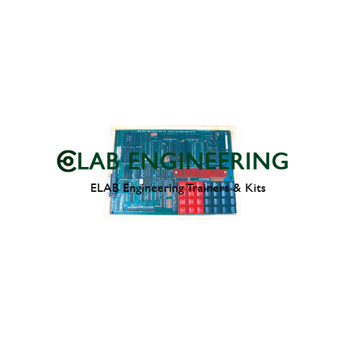 8031 Microcontroller Training Kit With Inbuilt Power