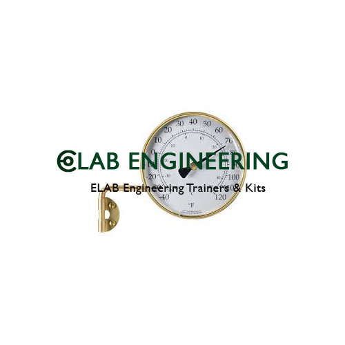 Table Thermometer Bimetallic