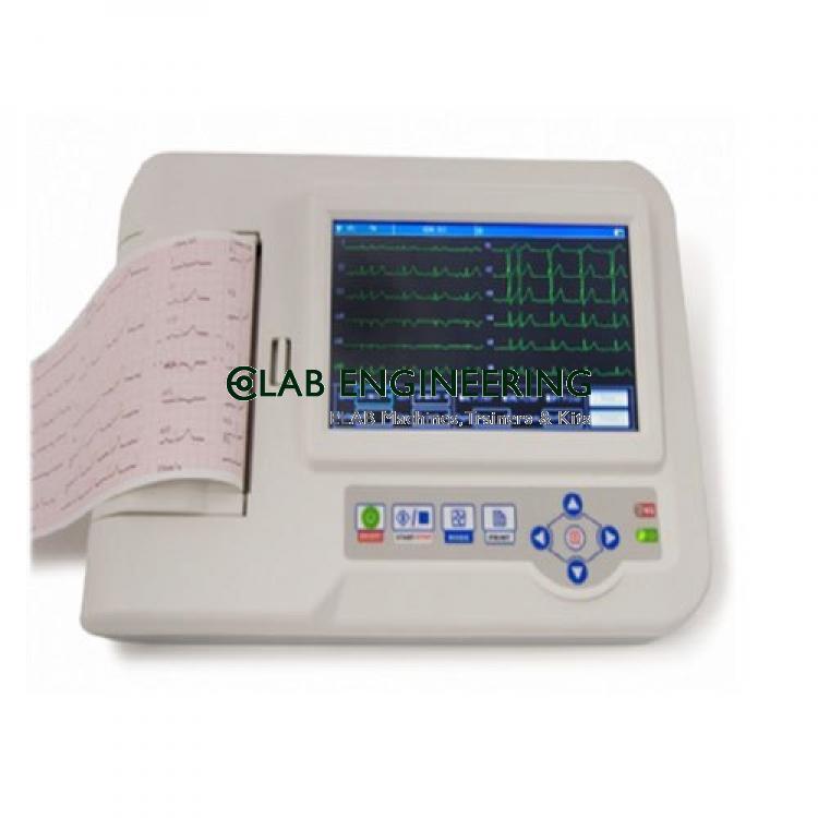 6 Channel ECG Machine