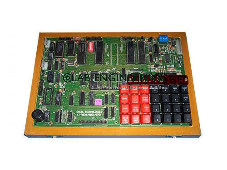 8051 Advanced Microcontroller Training Kit With LCD Display