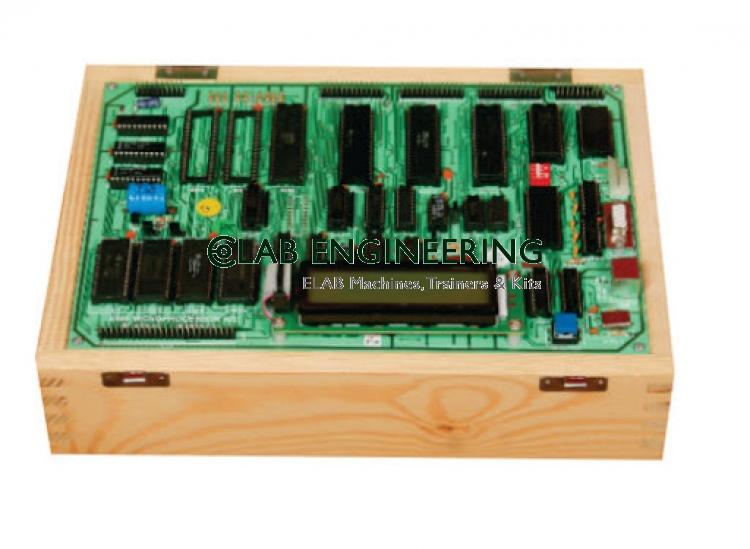 8085 Microprocessor Training Kit With LCD Display