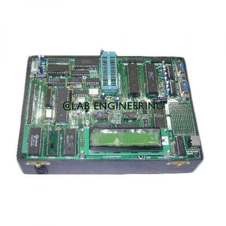 8086 8088 Microprocessor Training Kit With LCD Display