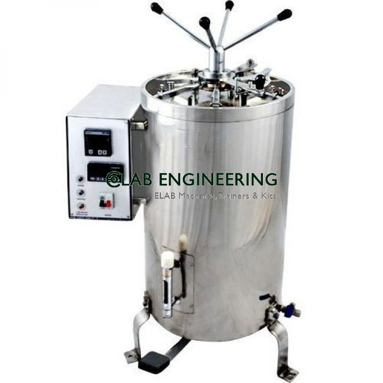 AUTOCLAVE VERTICAL (FULLY AUTOMATIC)