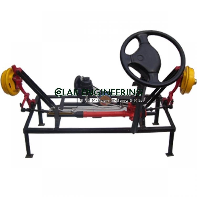 Actual Working Model of  Power Steering