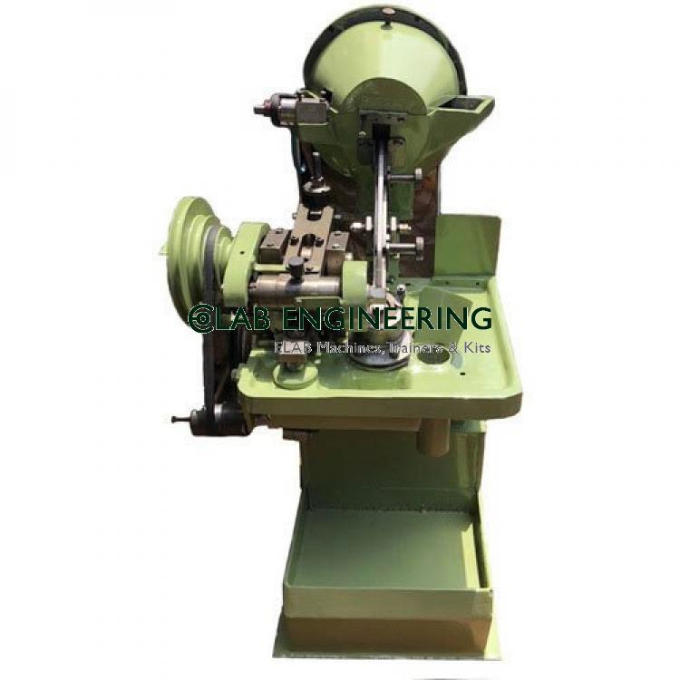 Automatic Screw Head Slotting Machine For Rivet