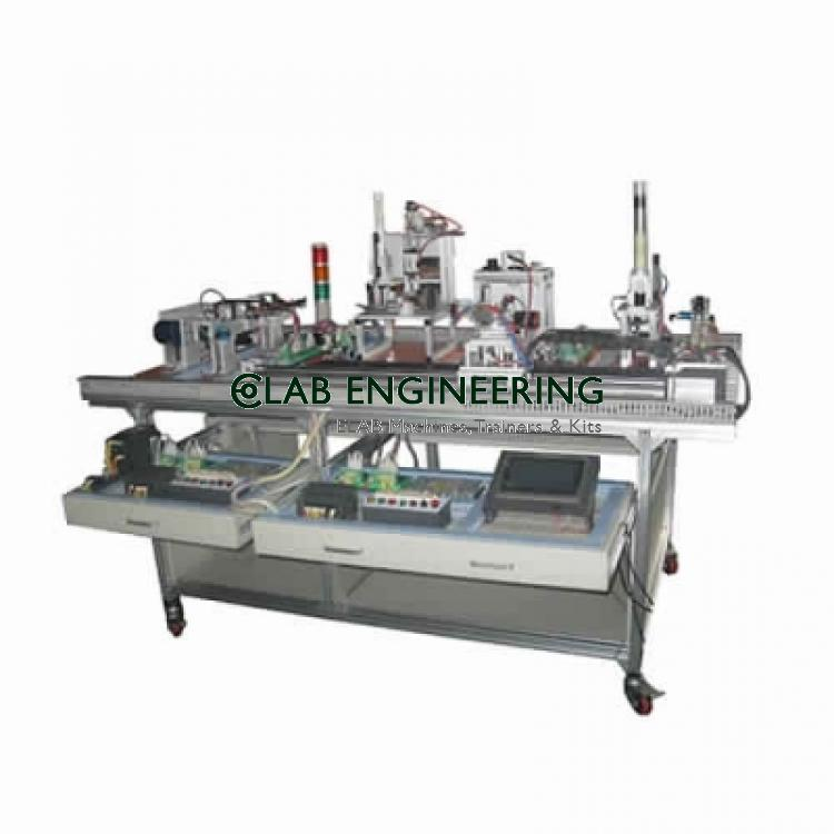Automatic producion line training equipment AUTOMATION MACHINES LAB