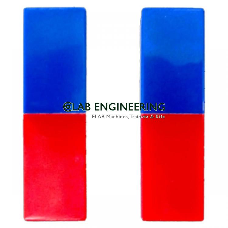 Bar Magnet Plastic