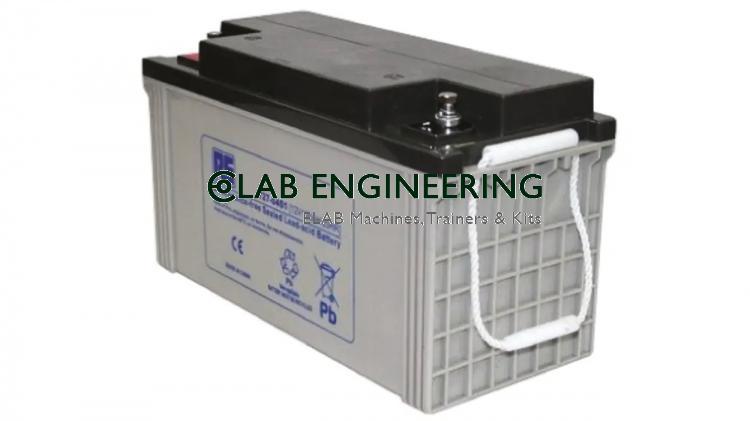 Battery, Gel-Cell, 12V/115Ah