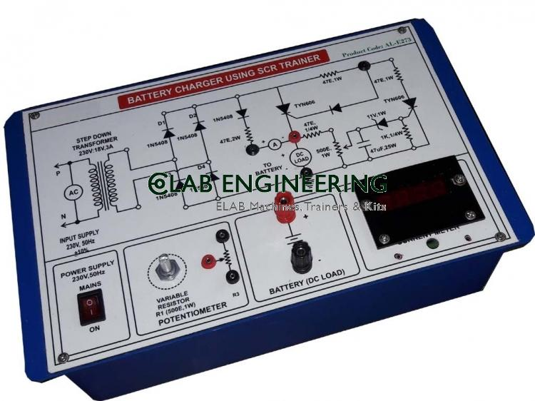 Battery Charging Using SCR Training Kit