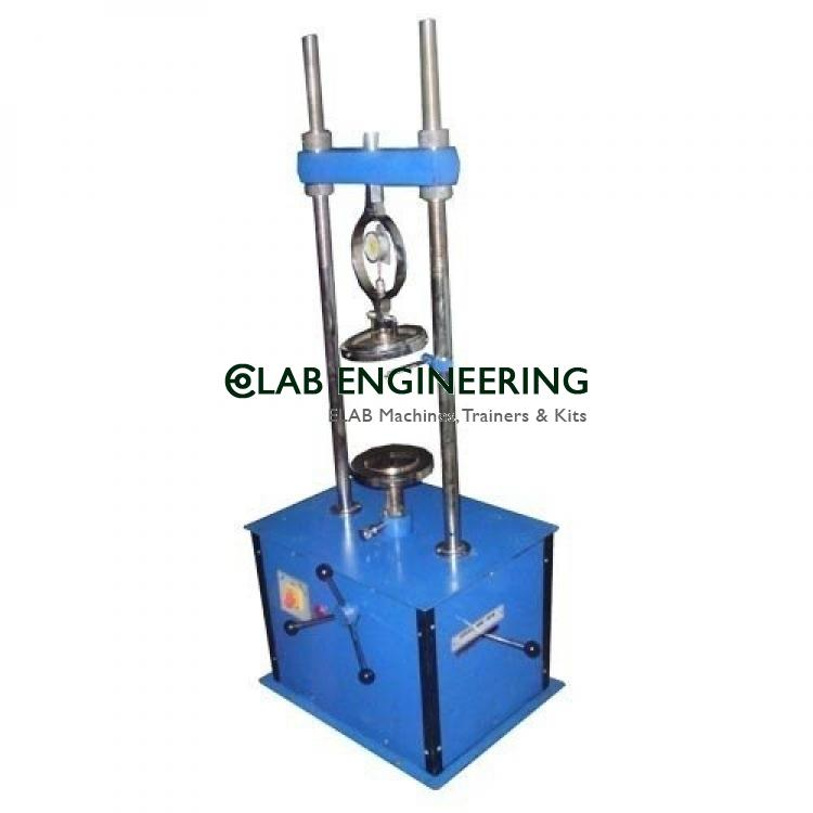 Bearing Ratio Apparatus Hand Operated
