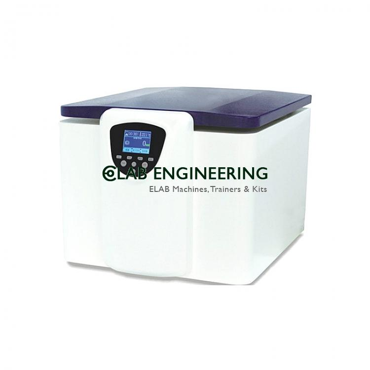 Bench Top Lab. Centrifuge 5000 r.p.m. (Brushless Motor)