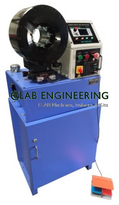 Blue Hydraulic Hose Crimping Machine