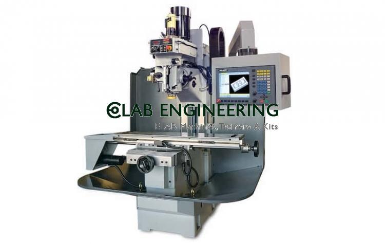 CNC MACHINES Milling Machine semi-physical