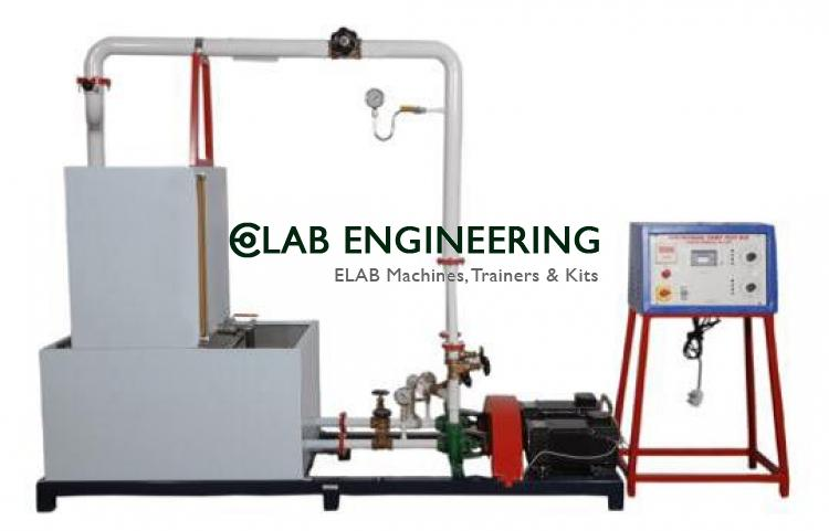 Centrifugal pump test rig (A.C motor)