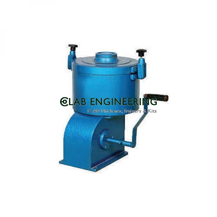 Centrifuge Extractor Hand Operated