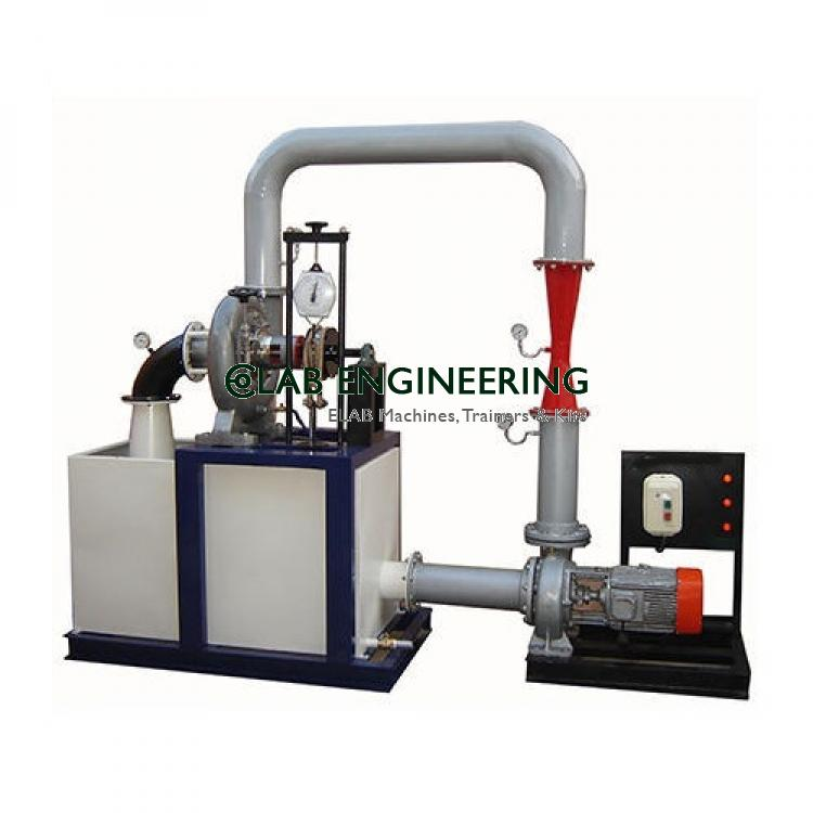 Closed Circuit Axial Flow Pump Test Rig