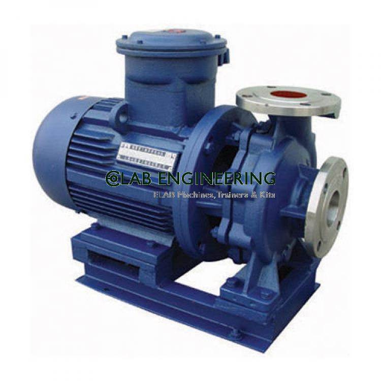 Closed Circuit Multispeed (Single Stage) Centrifugal Pump Test Rig-3HP Capacity