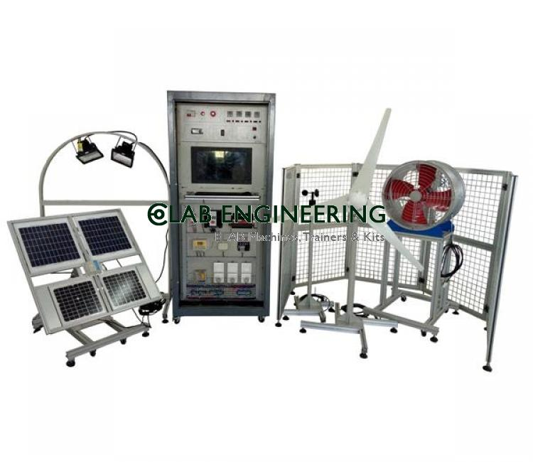 Comprehensive Photovoltaic Generating Training Systrm
