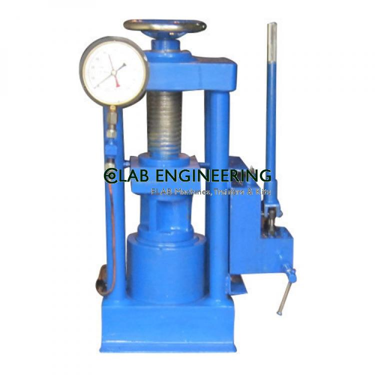 Compression Testing Machine Hand Operated