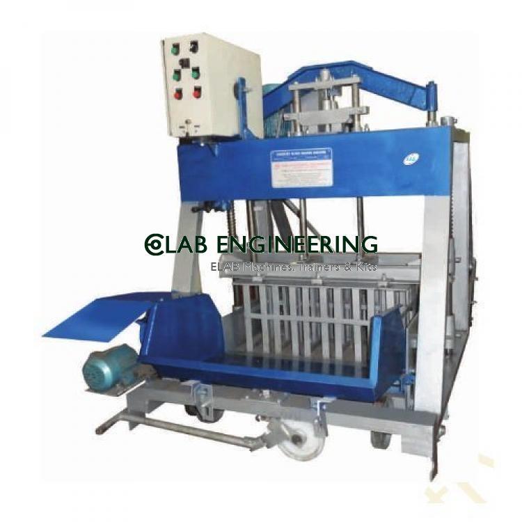 Conrete Block Making Machines Hydraulic Operated Semi-Automatic Laying Type Concrete Block Making Machine