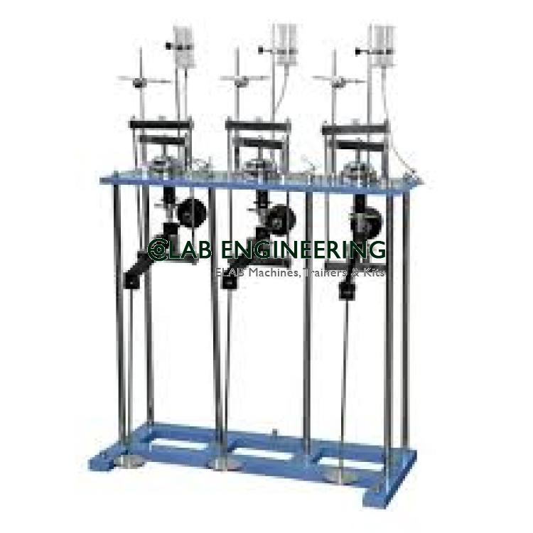 Consolidation Apparatus Three Gang Mould