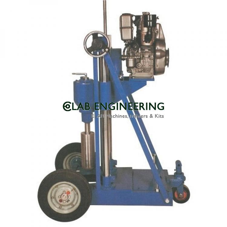 Core Drilling Machine Diesel Driven
