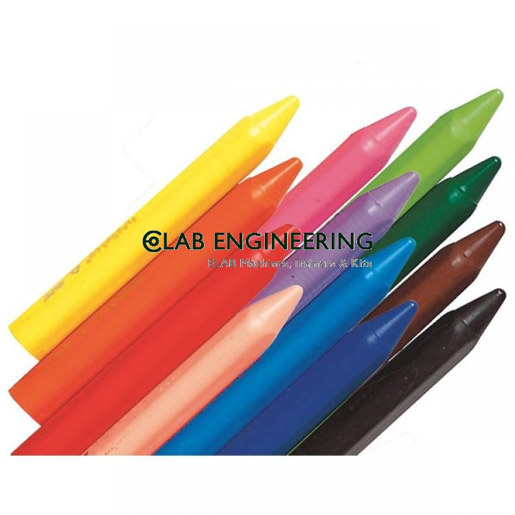 Crayon Wax Jumbo Assorted Colours