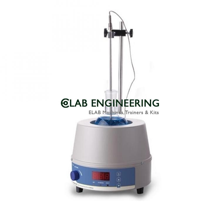 Digital Heating Mantle With Stirrer